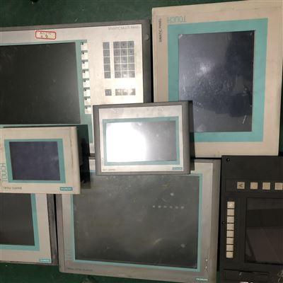 多年專修西門子操作屏上電卡在自檢界面死機
