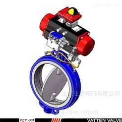 VT1ADW33A气动膨胀蝶阀使用寿命 耐磨气动蝶阀价格