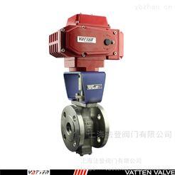 VQ941FV型自动化球阀 电动工业V型球阀 德国VATTEN