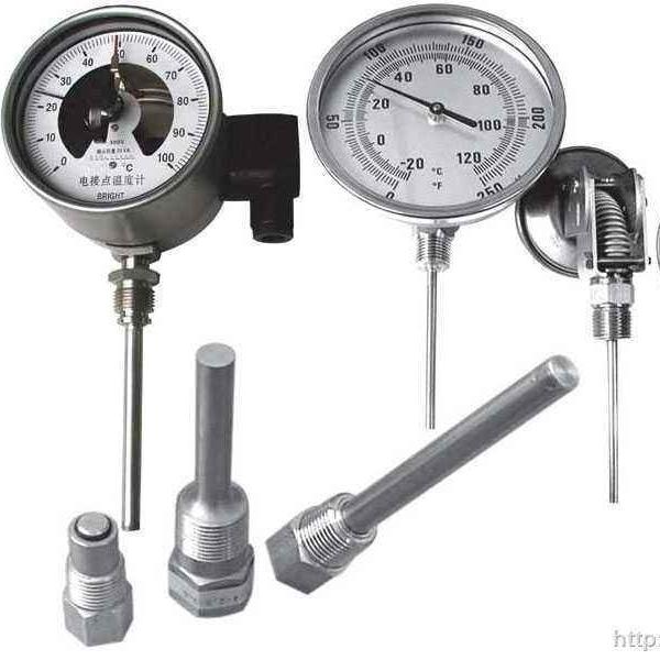 现场检测式双金属温度计