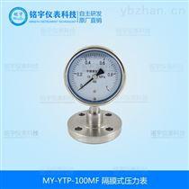 MY-YTP-100MF隔膜壓力表  *