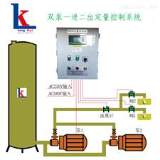 WDK型雙泵一進二出定量控制系統