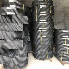 PVC材质逆流式圆形玻璃钢冷却塔填料