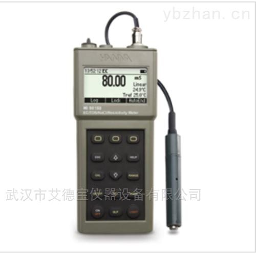 防水型便携式EC/TDS/NaCI/温度测定仪