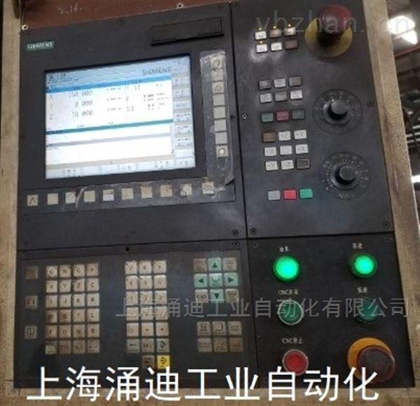西门子数控机床系统屏幕无显示维修技术