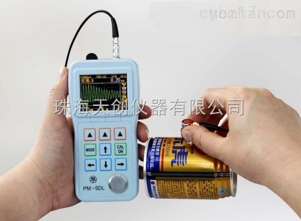 江苏常州PM-5DL高精密超声波测厚仪