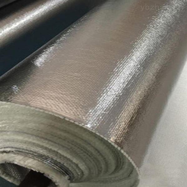 玻璃纤维铝箔布 铝箔防火布