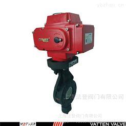 VT1AEW39A碳钢高性能蒸汽蝶阀 电动高温对夹蝶阀