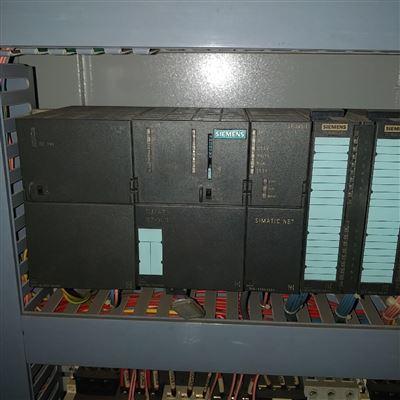 修复解决西门子S7-PLC300模块指示灯全亮