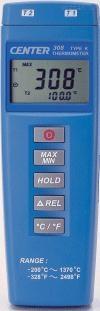 数位式温度计(双通道)CENTER 308