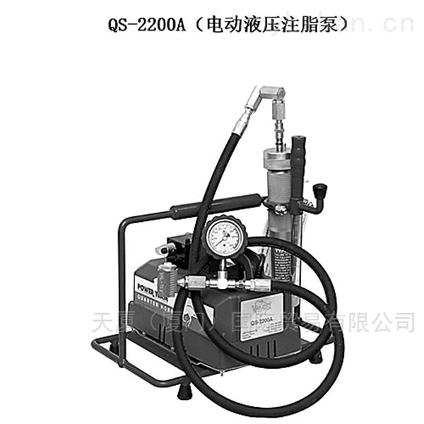 沃泰斯脚踏式液压注脂枪QS-2000A 125ml