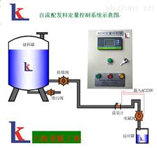 自来水配发料定量控制系统