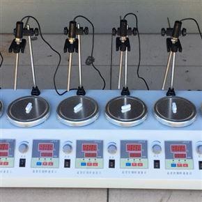 6头数显恒温磁力加热搅拌器