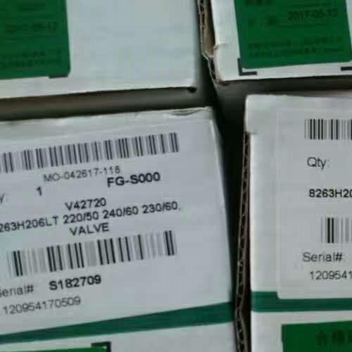 ASCO系列燃气切断阀,E262K019S0E00H1