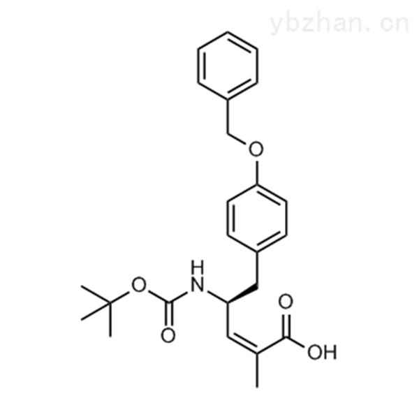 (S,Z)-5-(4-(Benzyloxy)phenyl)-4-((tert-butoxycarbonyl)amino)-2-methylpent-2-enoic acid