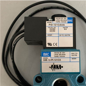 PID-121CAAA-美国MAC四通管接电磁阀-55B-11-PI-121CA