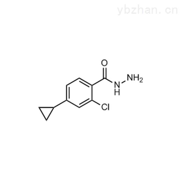 2-Chloro-4-cyclopropylbenzohydrazide