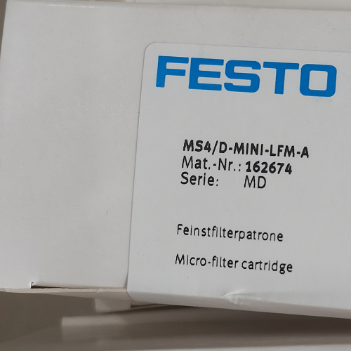FESTO精细过滤器滤芯-MS4/D-MINI-LFM-A