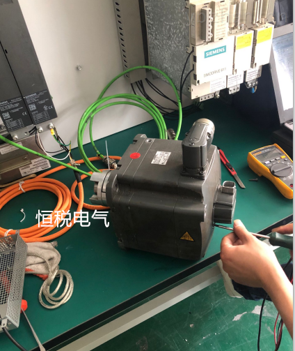 西門子系統報顯示F7902伺服電機壞修復解決