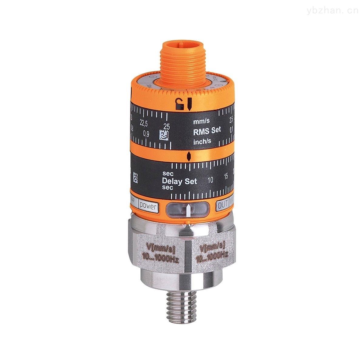 振动传感器VKV022,IFM用于监控及诊断的系统