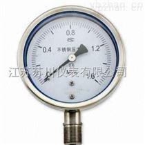 SC-Y-BF系列普通不銹鋼耐震壓力表