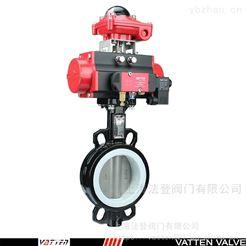 VT1ADW33A自带反馈电动半衬蝶阀 电动开关橡胶蝶阀