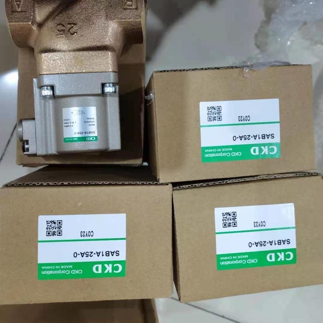 日本CKD高耐腐蚀用小型直动式2/3通电磁阀