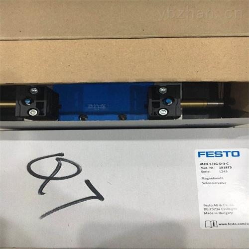 德FESTO电磁阀技术参数