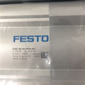DSBC-80-100-PPVA-N3德FESTO气缸重要参数,费斯托实物图