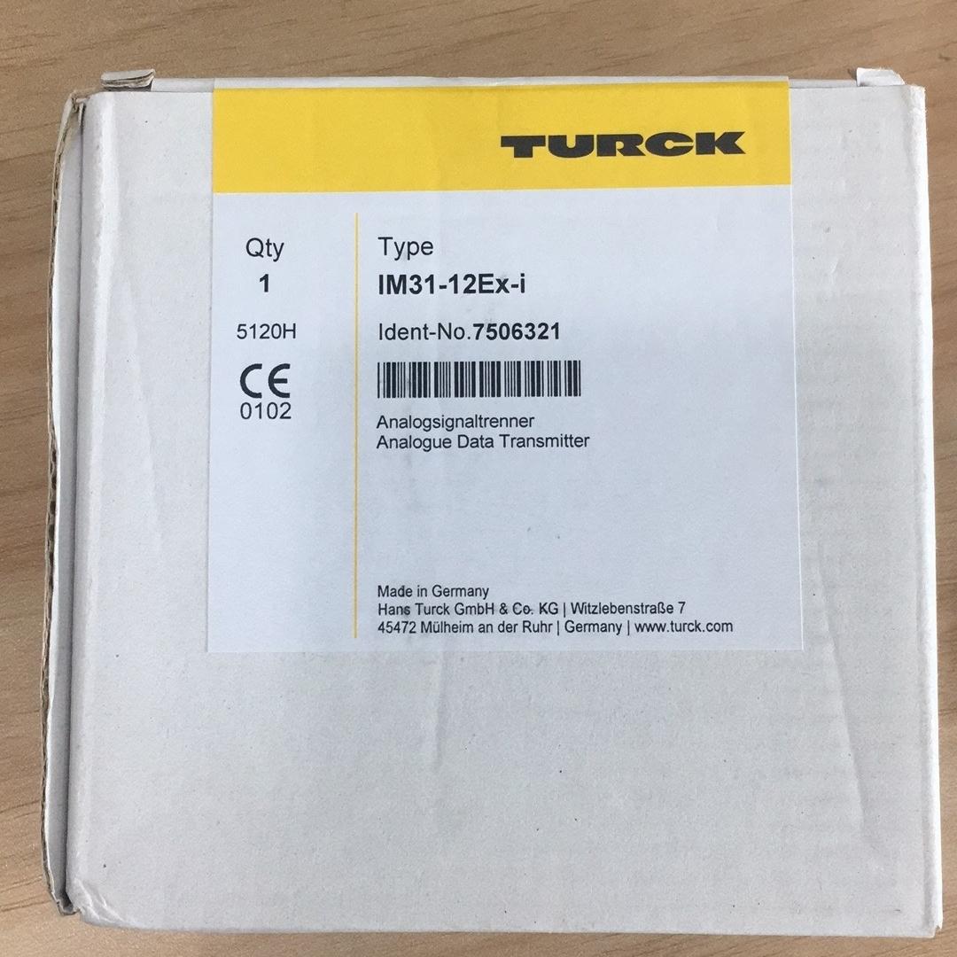 德国TURCK模拟量信号重复器7506321