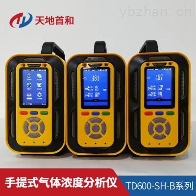 TD600-SH-B-C3H8O手提式异丙醇分析仪防爆等级:ExiaⅡCT4