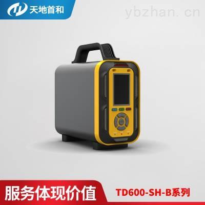 TD600-SH-B-CL2手提式氯气分析仪高清彩屏显示