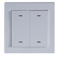 ASL100-F2/4两联四键智能照明面板 开关调光窗帘控制