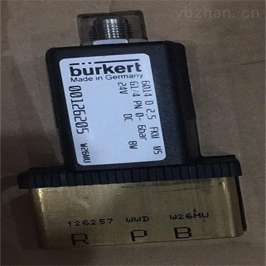 德BURKERT电磁阀技术参数