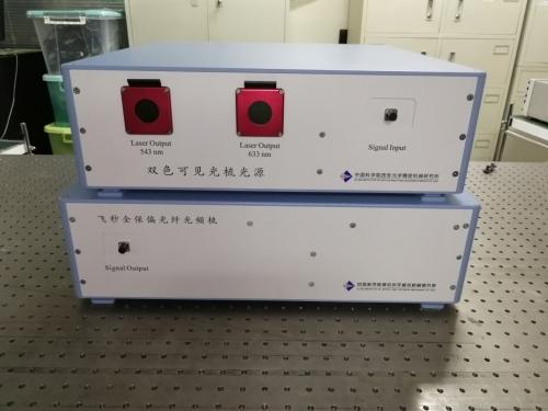 西安光機所成功研制雙波長窄帶可見光頻率梳光源