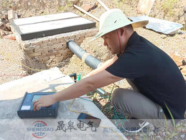 G3010E土壤电阻率测试仪应用