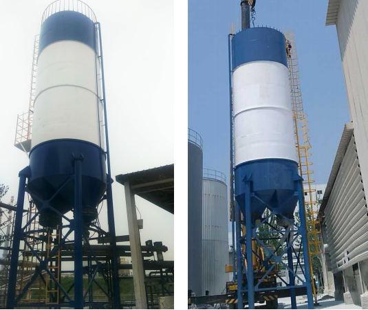 2017年5月采用我公司一台100立方氢氧化钙(石灰乳)投加系统