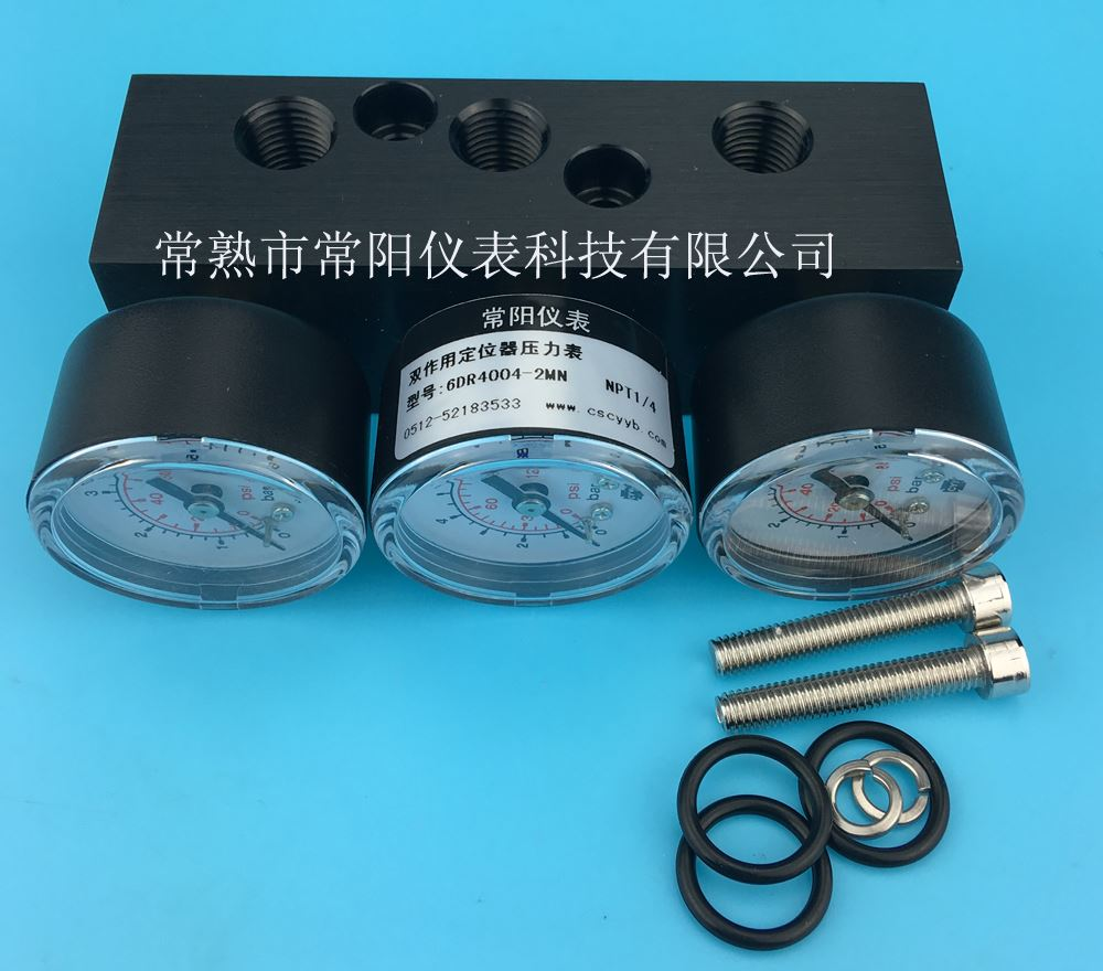 6DR4004-2M双作用压力表