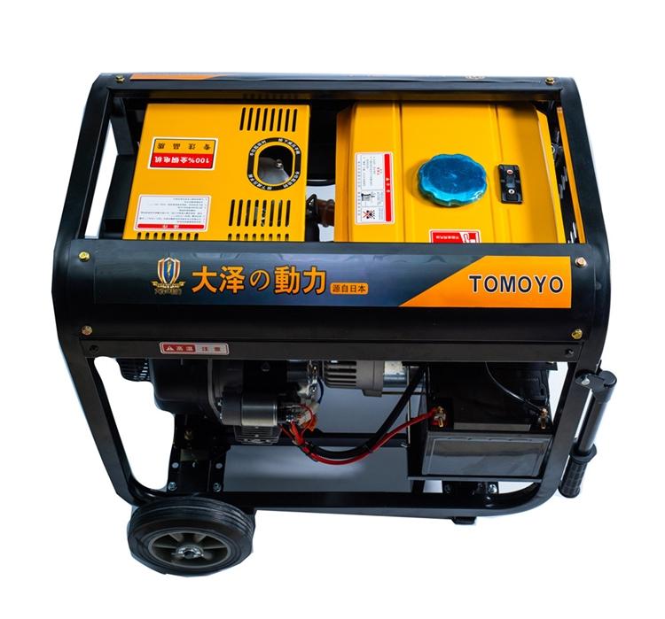 <strong>280A柴油发电电焊一体两用机参数</strong>